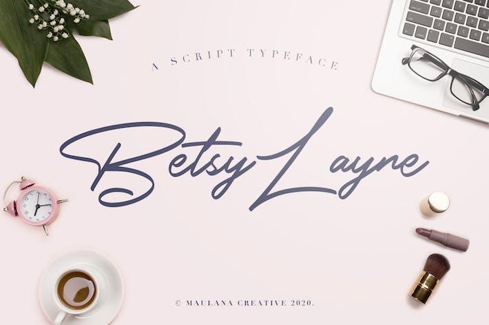 Betsy Layne - Police Signature