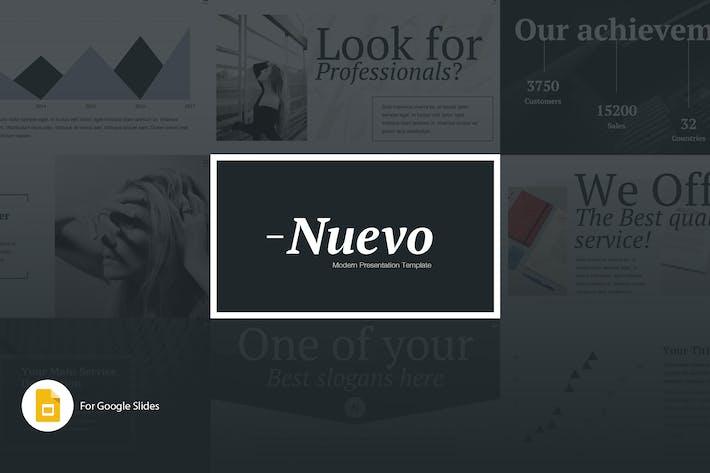 Thumbnail for Nuevo Google Slides Presentation Template