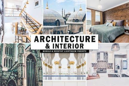 Architecture & Interior Lightroom Presets