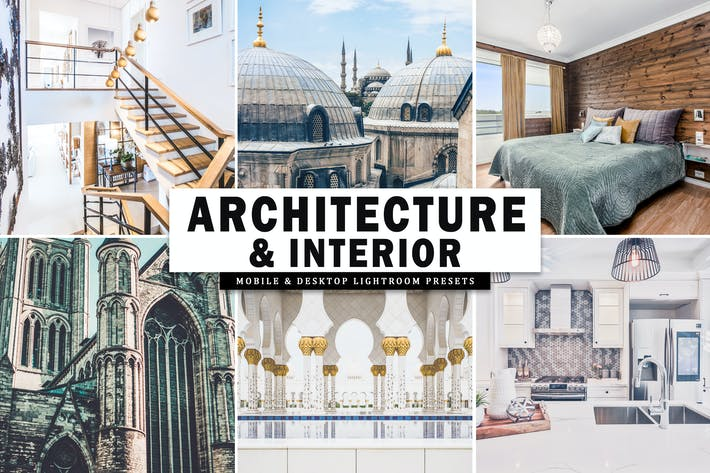 Thumbnail for Architecture & Interior Lightroom Presets