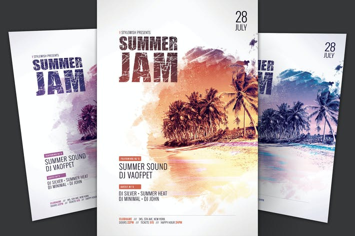 Thumbnail for Summer Jam Flyer