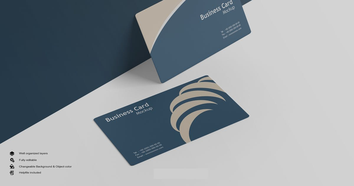 Download Business Card Mockup by GraphicMonday