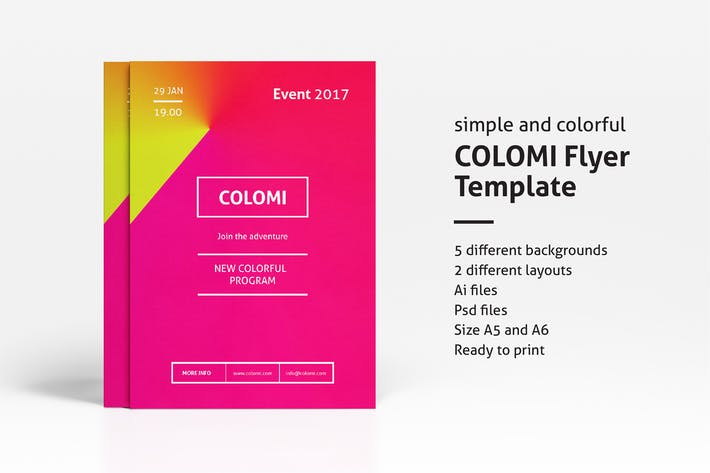 Thumbnail for Colomi - Flyer Template