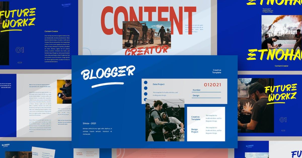 Download Blogger Bundle Presentation Template by axelartstudio