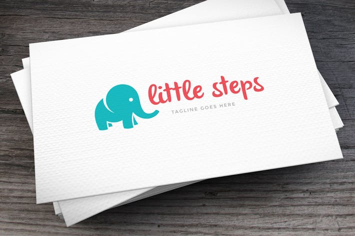 Thumbnail for Little Steps Logo Template