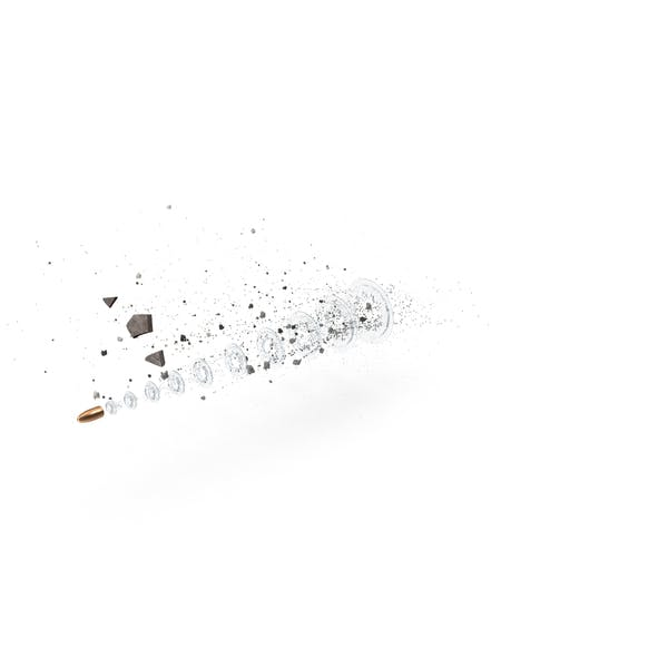 Bullet with Debris Matrix Effect