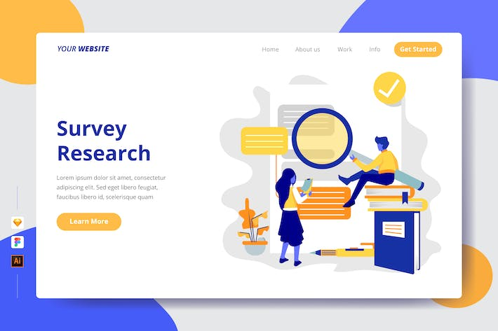 Thumbnail for Survey Research - Landing Page