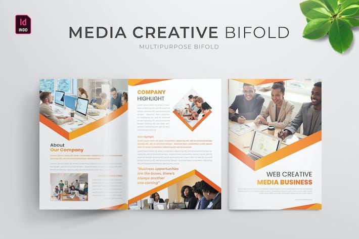Thumbnail for Media Creative | Brochure Bifold