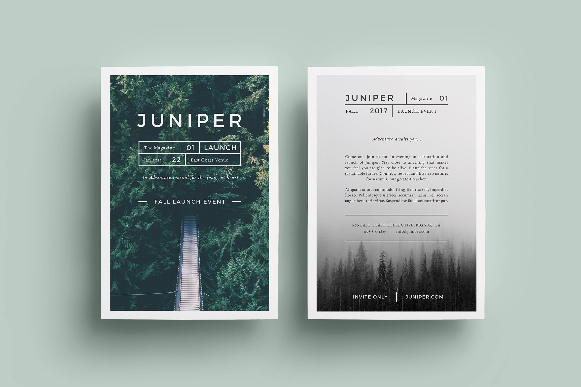 J U N I P E R Letterhead & With Comps by FortySixandTwo on Envato ...