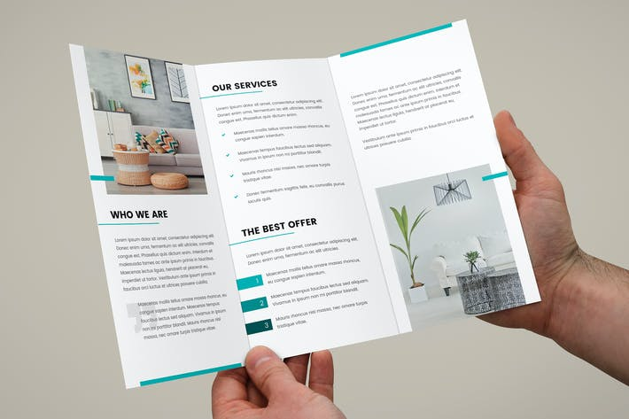 Thumbnail for Brochure – Interior Design Tri-Fold