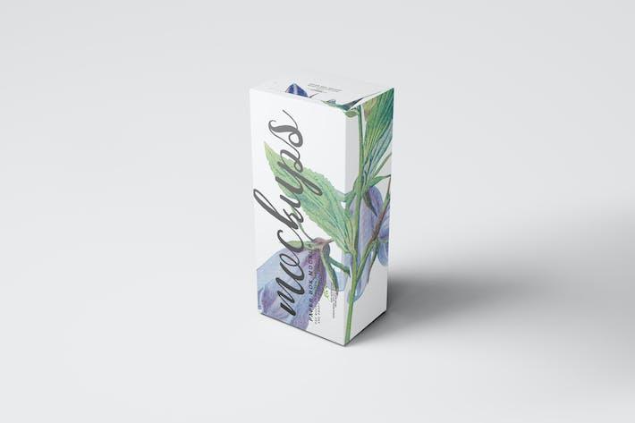 Thumbnail for Paper Box Mockup 14