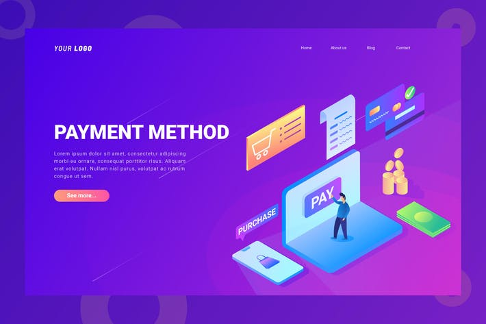 Thumbnail for Payment Method - Landing Page