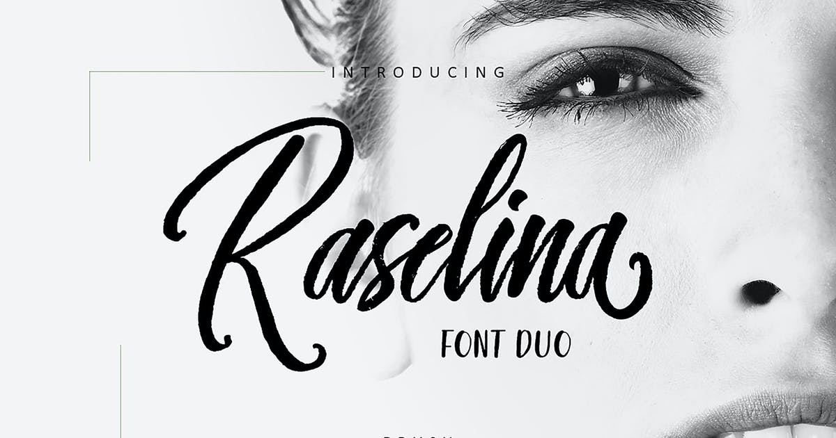 Download Raselina Font Duo by Siwox