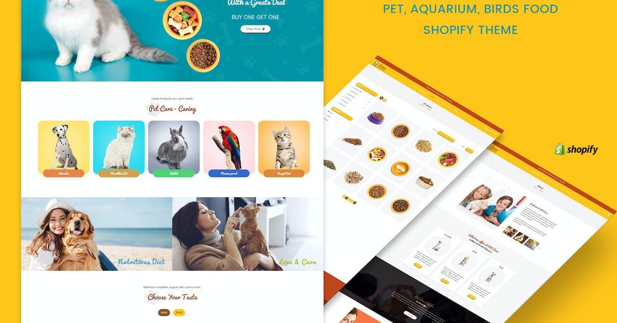 Download Bowie | Pet, Aquarium, Birds Food, Live Shopify by BuddhaThemes