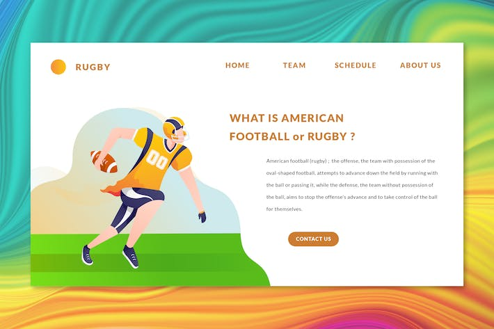 Thumbnail for American Football - Web Header