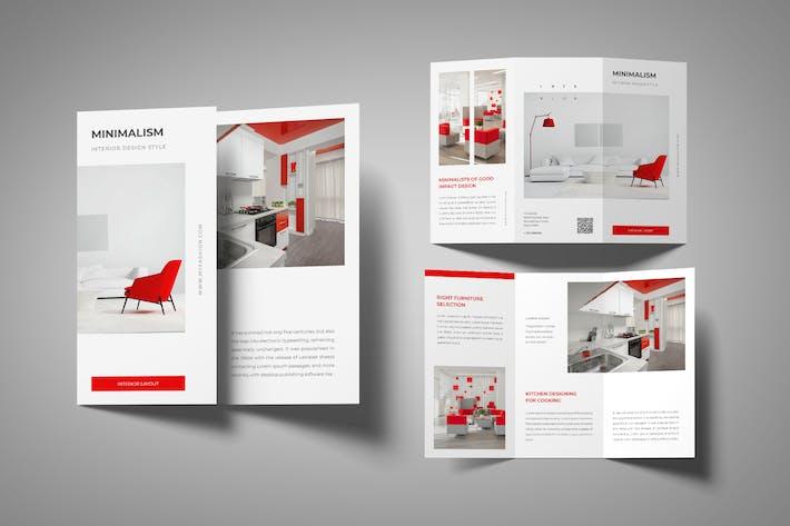 Thumbnail for Minimalist Furniture Trifold Brochure