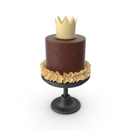 Princess Baby Chocolate Cake
