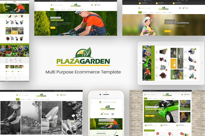 Cover Image For PlazaGarden - Responsive Magento Theme