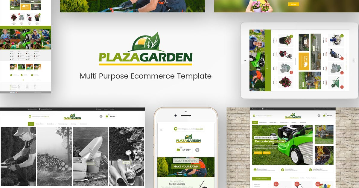 Download PlazaGarden - Responsive Magento Theme by Plaza-Themes