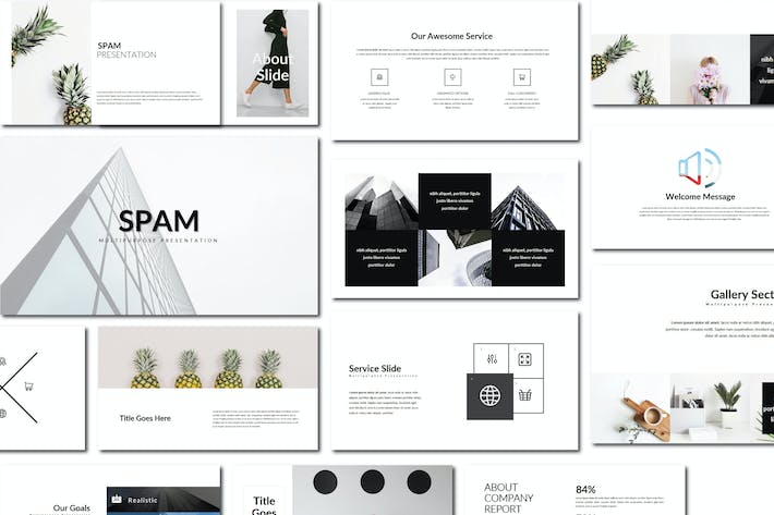 Thumbnail for Spam | Keynote Templates