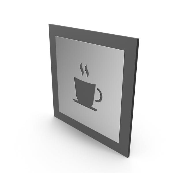 Coffee Cup Door Symbol