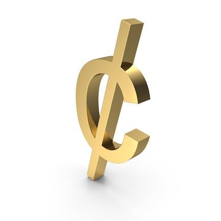 Símbolo Cent