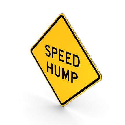 Speed Hump Sign