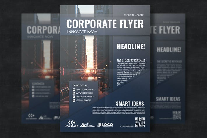 Thumbnail for Corporate Brochure Template Design