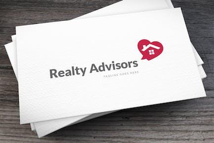Realty Advisors Logo Template