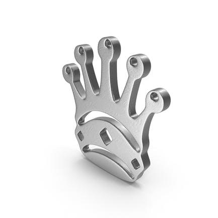 Queen Logo Silver