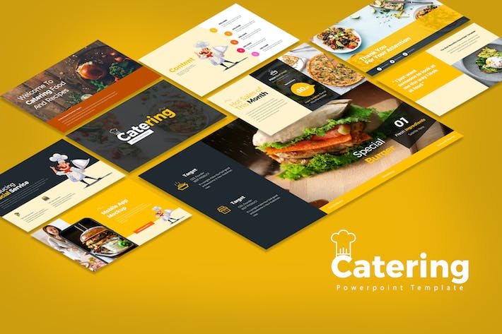 Catering PowerPoint Presentation
