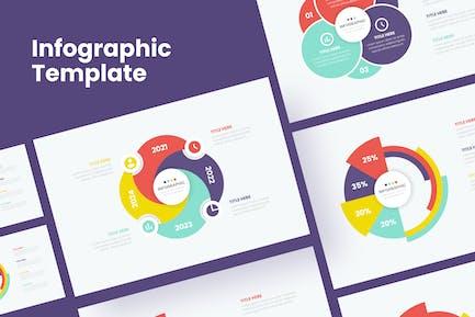 Infographic Step Template - Sanstemp
