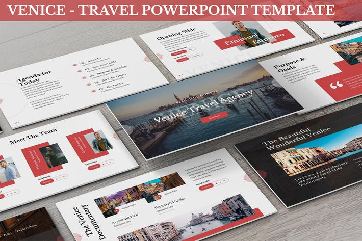 Thumbnail for Venice - Travel Powerpoint Template