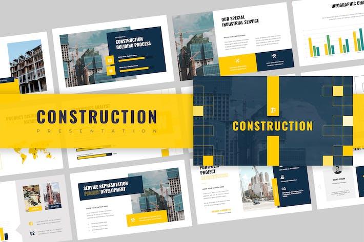 Thumbnail for Презентация Keynote доклада по строительству