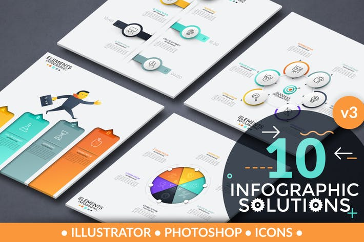 Thumbnail for Infographic Solutions. Part 3