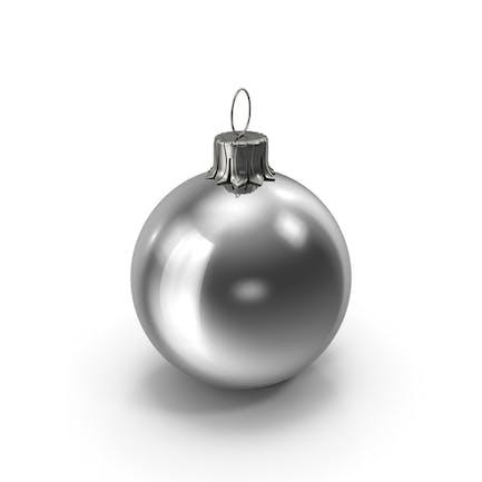 Рождественский бал Серебряный глянцевый Большой