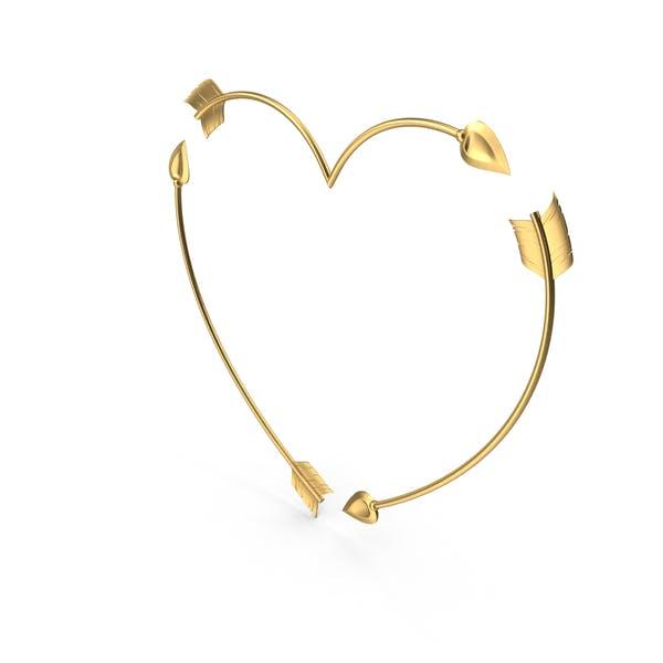 Thumbnail for Heart Golden Arrows
