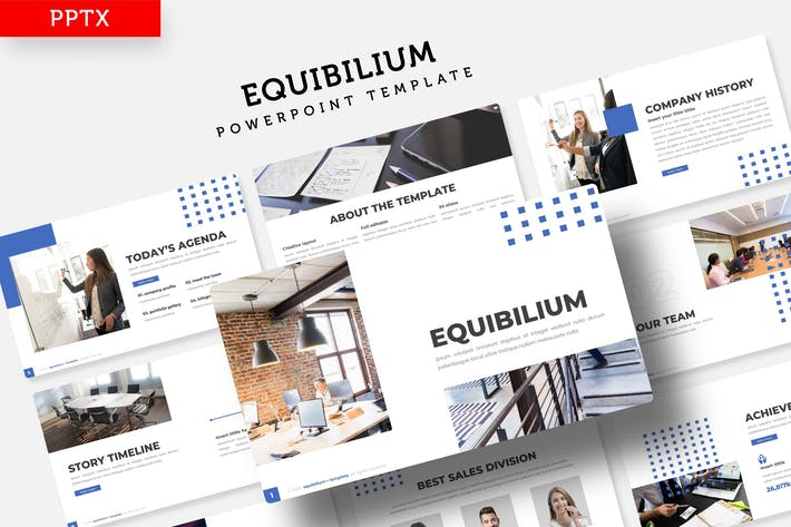 Thumbnail for Equibilium - Powerpoint Template