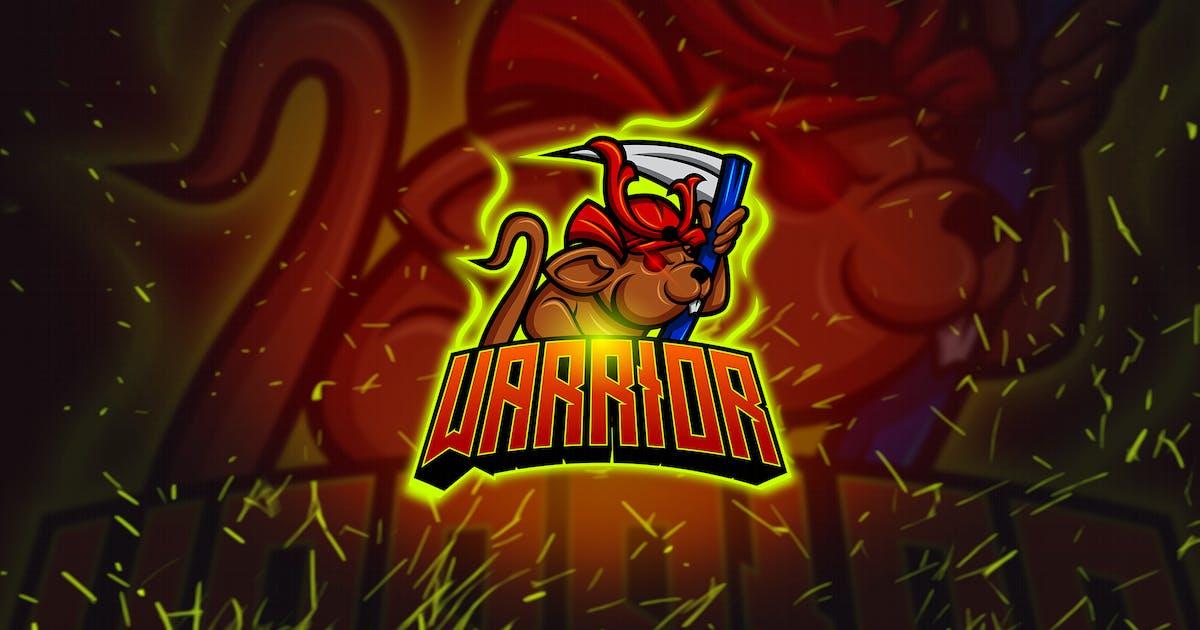 Download Warrior Mouse - Mascot & Esports Logo YR by Rometheme