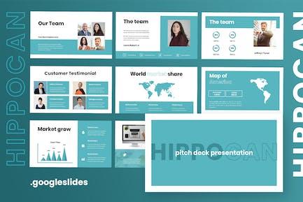Hipocan - Pitchdeck Googleslides Presentation