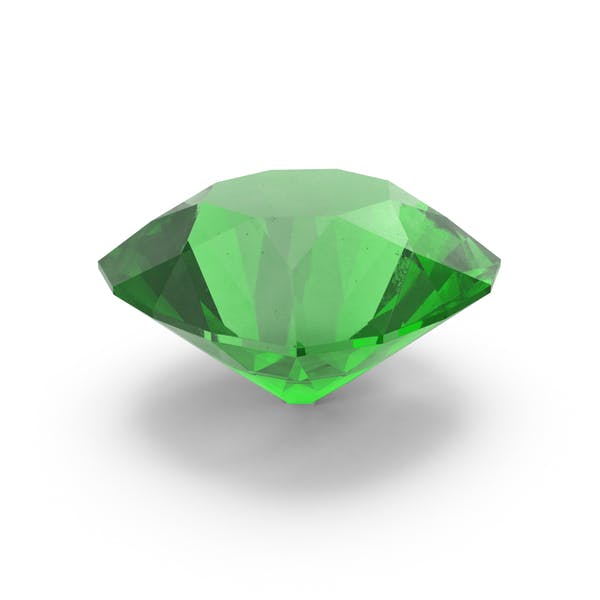 Cover Image for Round Emerald