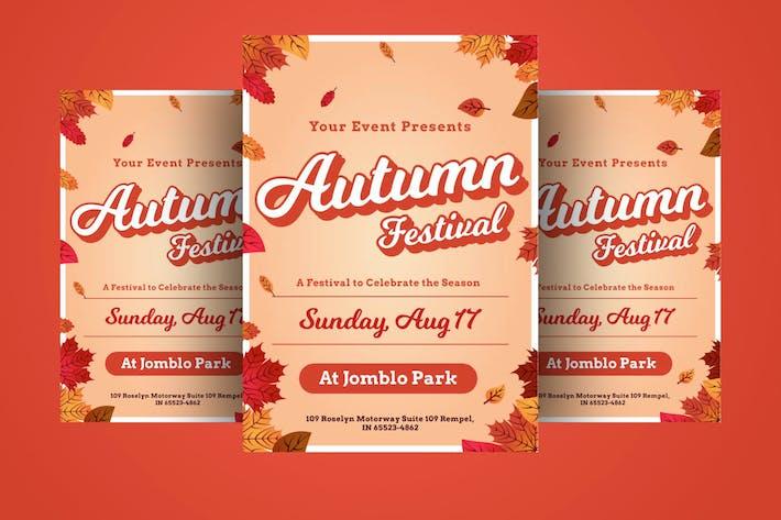 Thumbnail for autumn fest Flyer