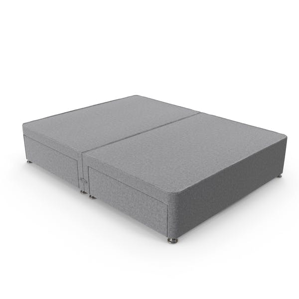 Cover Image for Bed Base Grey
