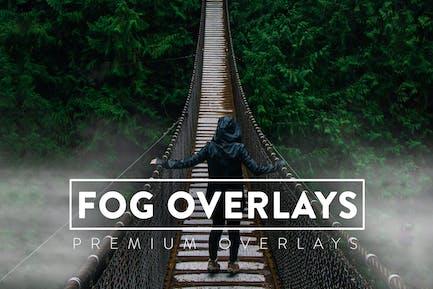 50 Fog Effect Overlays