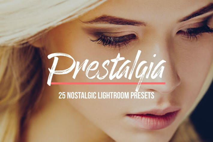 Thumbnail for Prestalgia – 25 Retro Lightroom Presets