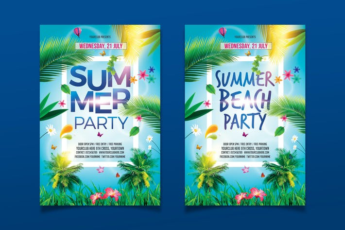 Thumbnail for Summer Party / Summer Beach Party