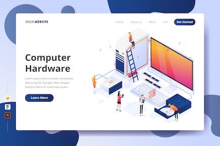 Computer Hardware - Landing Page