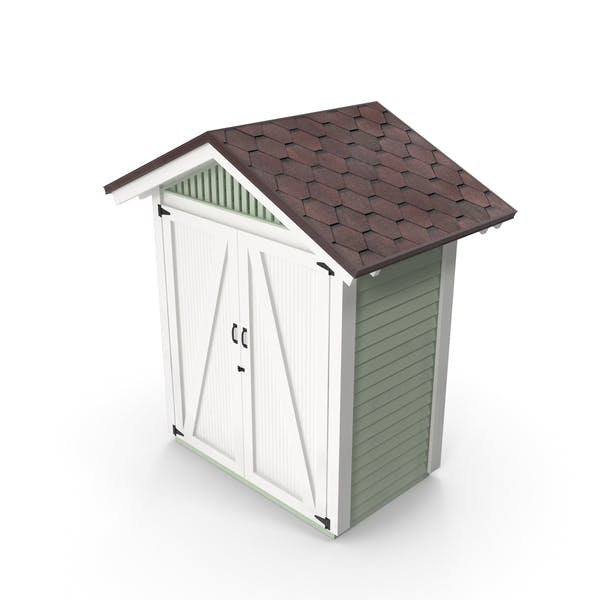 Thumbnail for Wooden Vertical Storage Shed
