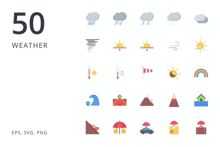 Thumbnail for the weather icons 50