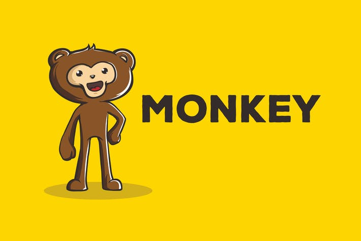 Thumbnail for Monkey Vector Illustration Artwork